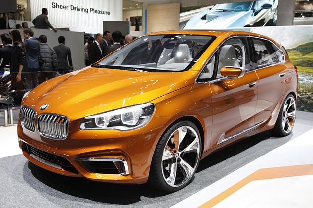 BMW コンセプト アクティブツアラー アウトドア
