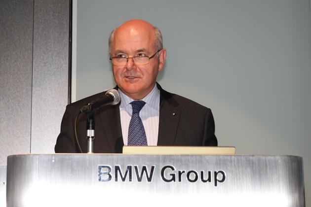 BMW株式会社 アラン・ハリス代表取締役社長