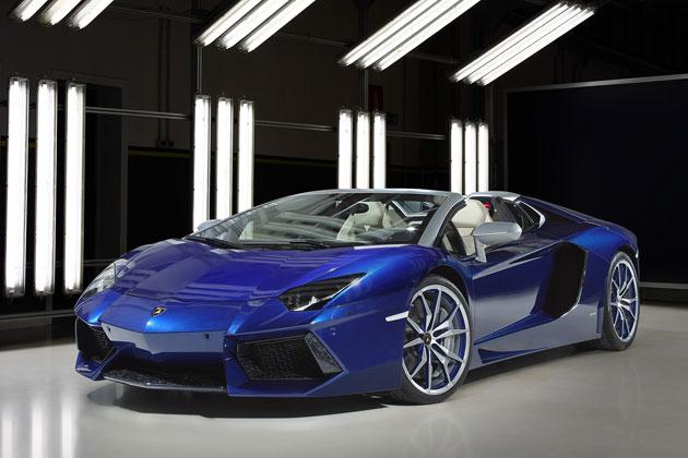 【ジュネーブショー2014】ランボルギーニ、「アドペルソナム」による特別仕様車を展示
