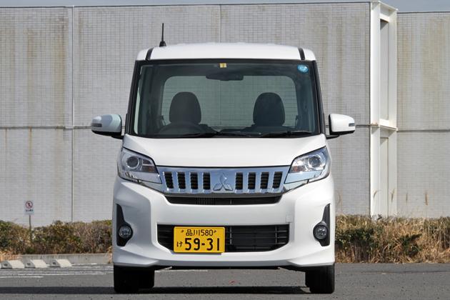三菱「eKスペース カスタム T」[2WD/ボディカラー:ホワイトパール]