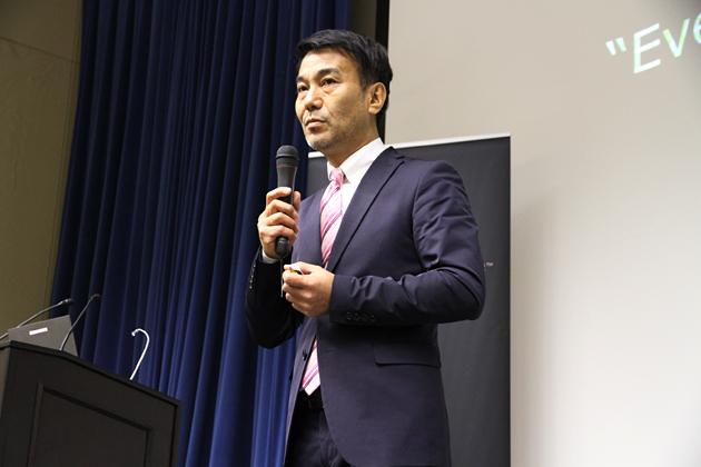 Uber Japan株式会社 代表取締役社長 塩濱剛治氏