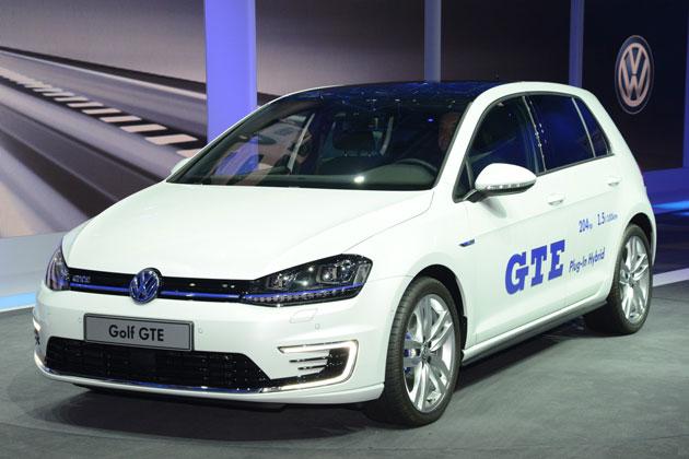 【ジュネーブショー2014】フォルクスワーゲン、「ゴルフ GTE」を世界初公開