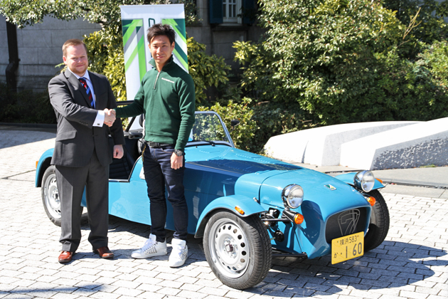 CATERHAM CARS MEDIA EVENT 新型「ケータハムセブン160」発表会[2014/03/10/駐日英国大使館(東京都千代田区)]