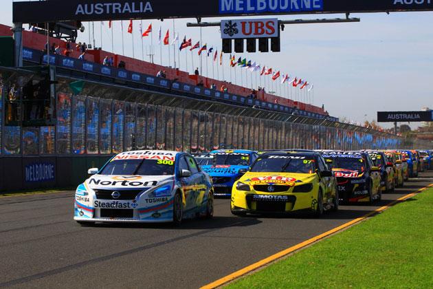 #300 ノートン/ビヨンドブルー・ニッサン・アルティマ 第1レース(金)/オーストラリアV8スーパーカー選手権 第2戦(オーストラリア メルボルン)