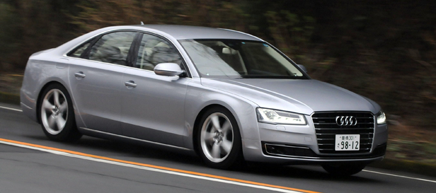 【試乗】アウディ 新型 A8 ・A8L[2014年モデル] 試乗レポート/大谷達也