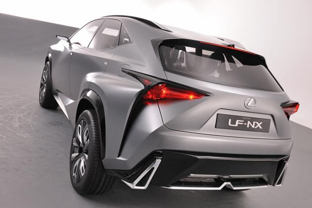LEXUS(レクサス)「NX」のベース車である「LF-NX」 リアエクステリア