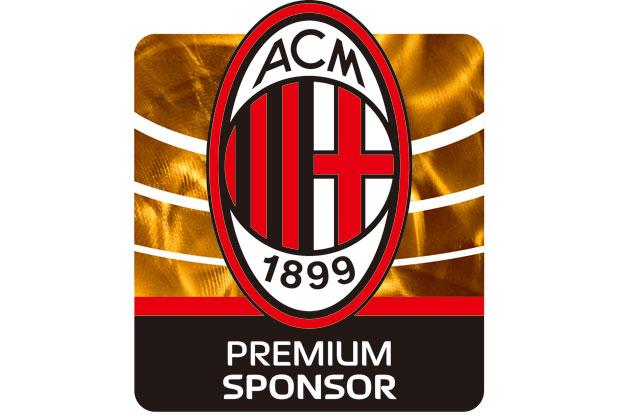 イタリア セリエ A 「AC ミラン」ロゴ