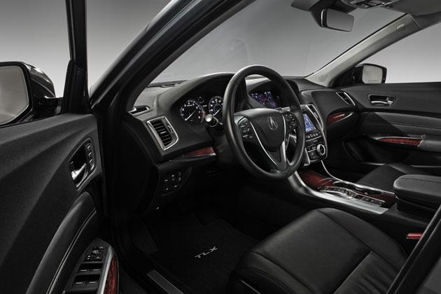 ホンダ 新型Acura「TLX」/インテリア