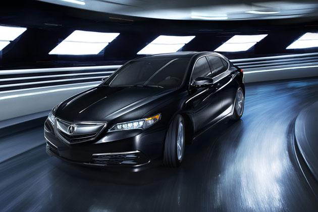 ホンダ 新型Acura「TLX」/走行イメージ