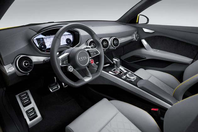 Audi TT オフロード コンセプト