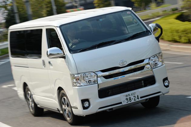 トヨタ 新型 ハイエースバン スーパーGL[2013年秋 マイチェンモデル] 試乗レポート/渡辺陽一郎