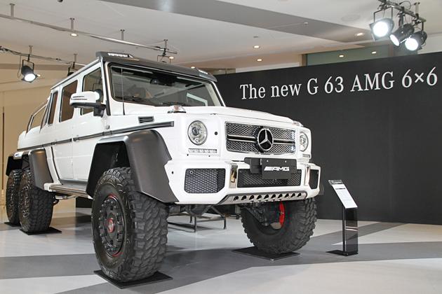 メルセデス・ベンツ G 63 AMG 6×6