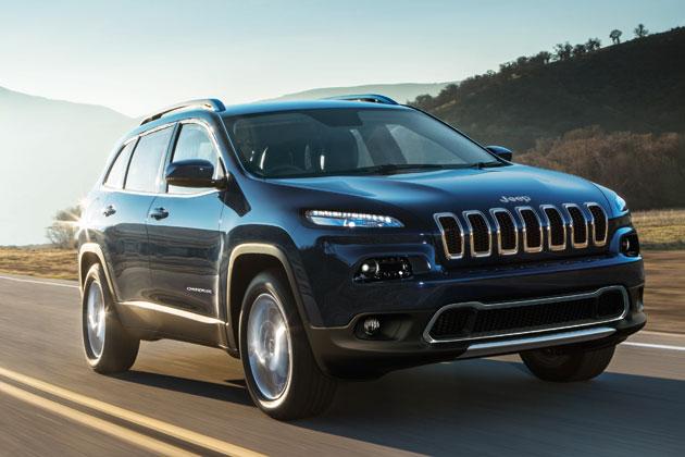 新型 Jeep Cherokee(ジープ・チェロキー)Limited(リミテッド)/走行イメージ