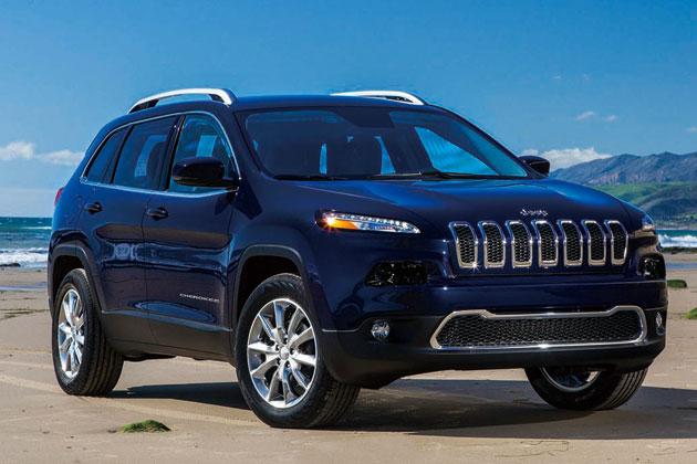新型 Jeep Cherokee(ジープ・チェロキー)・Limited(リミテッド)/フロントエクステリア