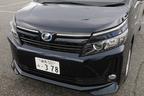 トヨタ 新型ヴォクシーハイブリッド 燃費レポート/フロントマスク1