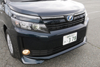 トヨタ 新型ヴォクシーハイブリッド 燃費レポート/フロントマスク2