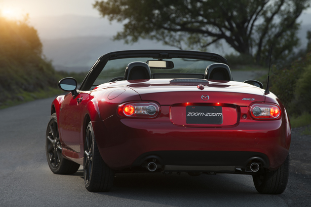 Mazda MX-5 Miata 25th Anniversary Edition(米国仕様車)