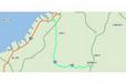 マツダ アクセラスポーツ(ディーゼルターボ) 実燃費試乗ルート2「郊外路」
