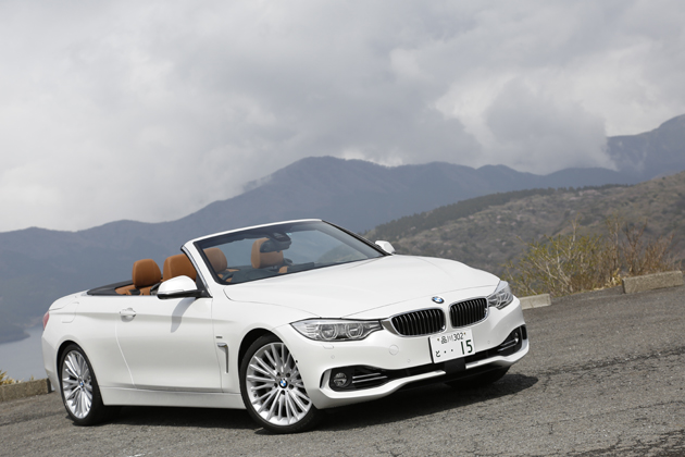 BMW 435i Cabriolet Luxury(カブリオレ ラグジュアリー)[ボディカラー:ミネラル・ホワイト]