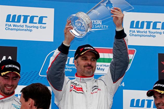 レース1で優勝したイヴァン・ミューラー/FIA 世界ツーリングカー選手権(WTCC)第3戦ハンガリー