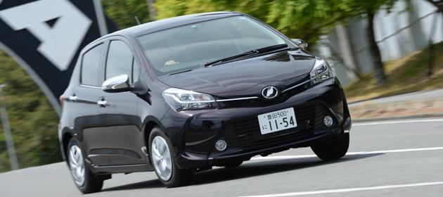 【試乗】トヨタ 新型 ヴィッツ[2014年4月マイナーチェンジ] 試乗レポート/渡辺陽一郎