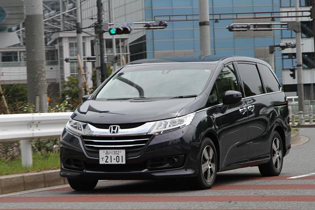 ホンダ 新型オデッセイ G EX [FF・7人乗り]/市街地走行イメージ1