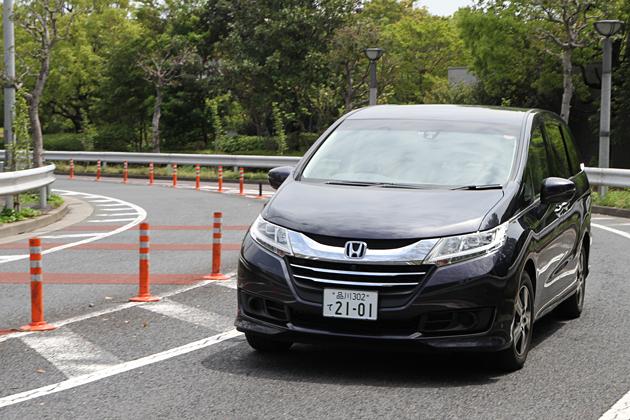 ホンダ 新型オデッセイ G EX [FF・7人乗り]/郊外路走行イメージ1