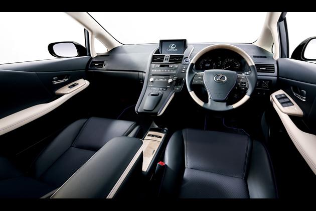 """レクサス HS250h 特別仕様車 """"Harmonious Leather lnterior II"""" (ブラック&メローホワイト) 〈オプション装着車〉"""