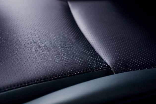 レクサス HS250h 特別仕様車 専用本革シート表皮(バイオレットパーフォレーション)