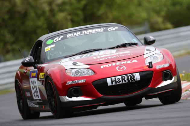 Mazda MX-5(ロードスター) 2014ニュルブルクリンク24時間レース仕様車