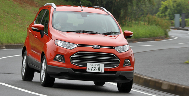 フォード 新型 SUV「エコスポーツ」国内初試乗レポート/渡辺陽一郎