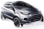フォード エコスポーツ デザインイメージスケッチ