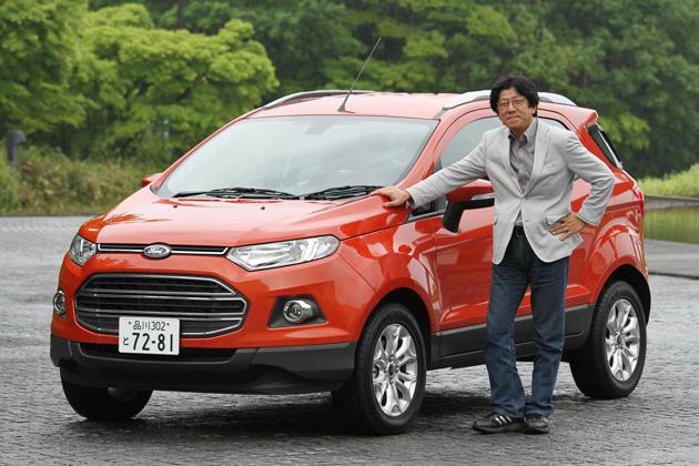 フォード エコスポーツ タイタニアム[2WD/ボディカラー:マーズレッドメタリック] 試乗レポート/渡辺陽一郎 1