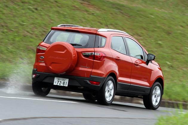 フォード エコスポーツ タイタニアム[2WD/ボディカラー:マーズレッドメタリック] 試乗レポート/渡辺陽一郎 3