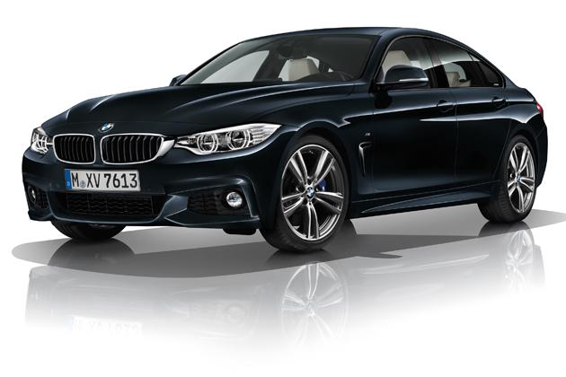 BMW 新型 4シリーズ グラン クーペ/エクステリア