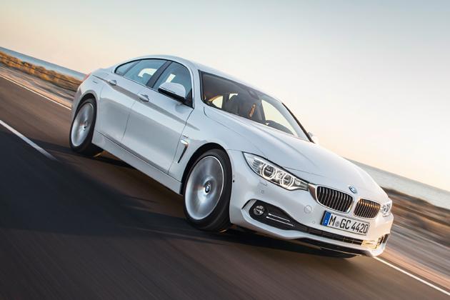 BMW 新型 4シリーズ グラン クーペ/走行イメージ