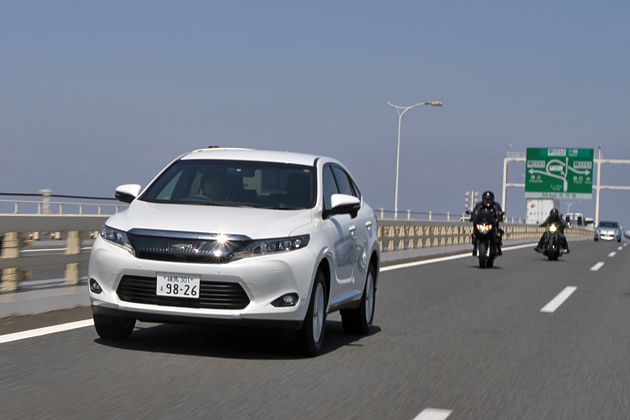 トヨタ 新型ハリアー(ガソリン)燃費レポート【高速道路編】