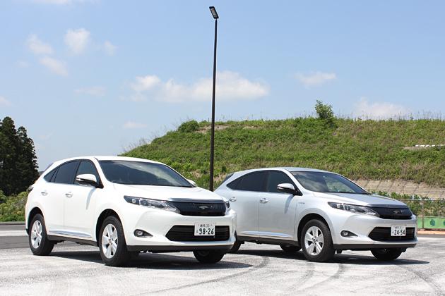 トヨタ 新型ハリアー ガソリンモデルとハイブリッド
