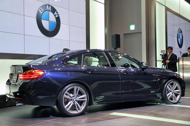 [BMW 新型 4ドアクーペ「4シリーズグランクーペ」新型車発表会速報]