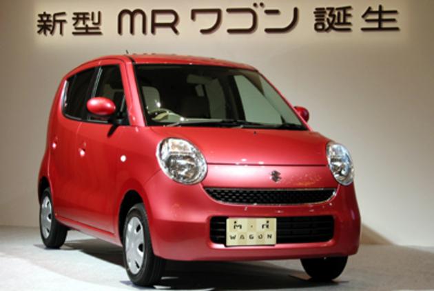 スズキ MRワゴン 新車発表会速報