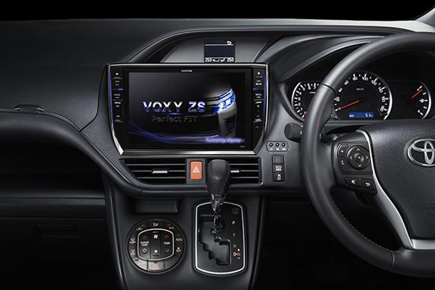 アルパイン EX1000-VO  ヴォクシー専用チューニングを施したSDカーナビ
