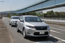 トヨタ 新型ハリアーハイブリッド(ELEGANCE)の市街地燃費測定中3