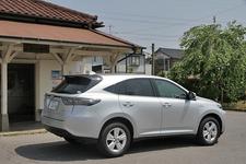 トヨタ 新型ハリアーハイブリッド(ELEGANCE)の郊外路燃費測定中2