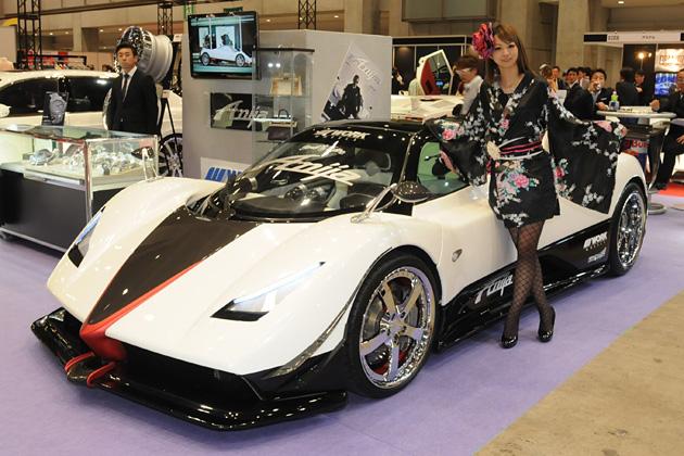 [S.I.S スペシャルインポートカーショー プレミアム 2014] Anija/パガーニ ゾンダ C12S