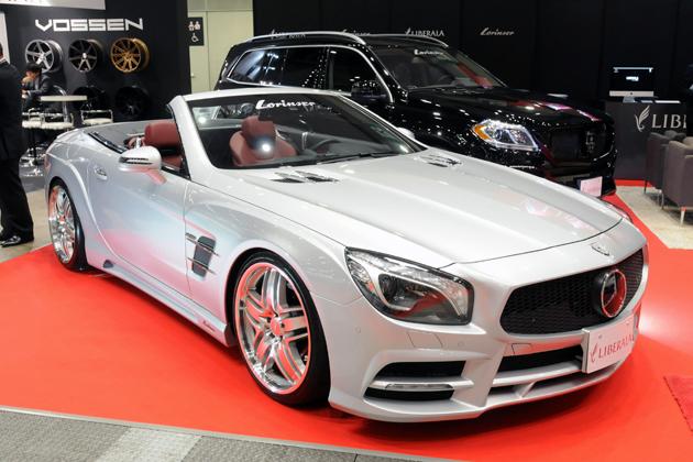 [S.I.S スペシャルインポートカーショー 2014]華やかなコンプリートカーが勢ぞろい~LIBERALA/HAMANA/ROBERUTA~