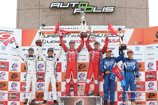 GT-Rが表彰台独占!/2014 スーパーGT 第3戦オートポリス
