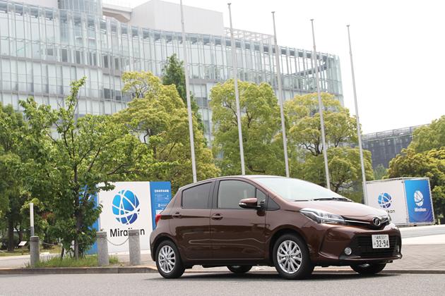 【燃費】トヨタ 新型ヴィッツ(2014年マイナーチェンジ)燃費レポート/永田恵一