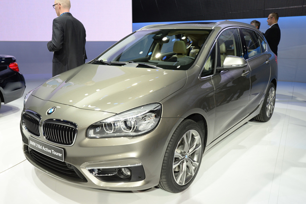 BMW『2シリーズ アクティブツアラー』フロントエクステリア