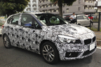 【スクープ!】BMWブランド初のFFモデル「2シリーズ アクティブツアラー」を早くも日本の公道で捕獲!