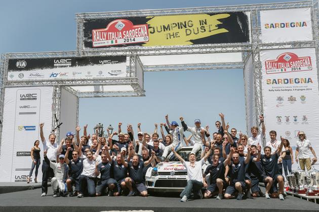 フォルクスワーゲン「ポロ R WRC」/ 「FIA 世界ラリー選手権(通称:WRC)」の第6戦「ラリー・イタリア サルディニア」